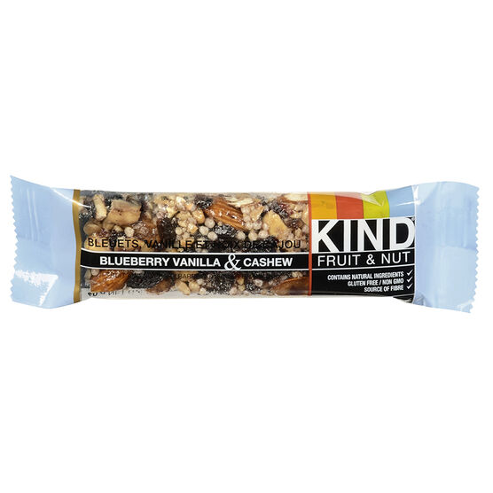 Kind Fruit & Nut Bar - Blueberry Vanilla & Cashew - 40g
