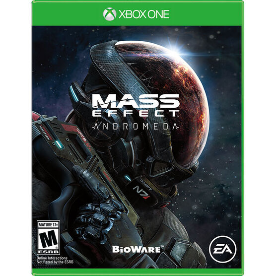PRE-ORDER: Xbox One Mass Effect Andromeda