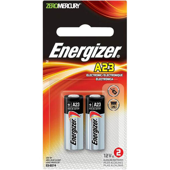 Energizer Alkaline Battery A23 12V - 2 Pack
