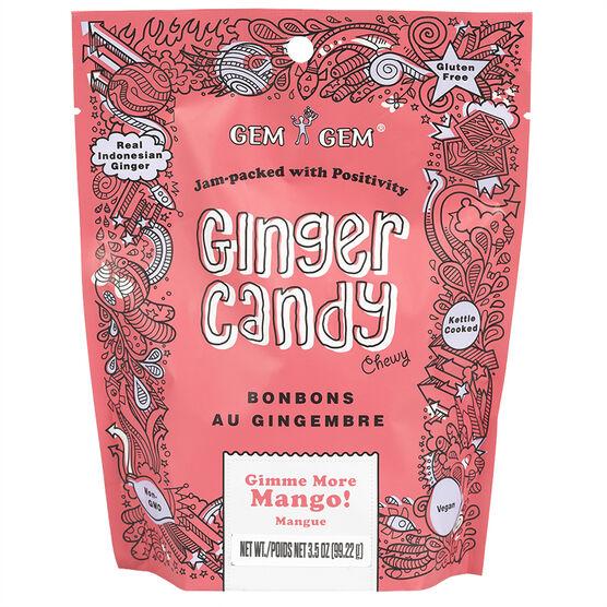 Gem Gem Ginger Candy -  Gimme More Mango - 99g