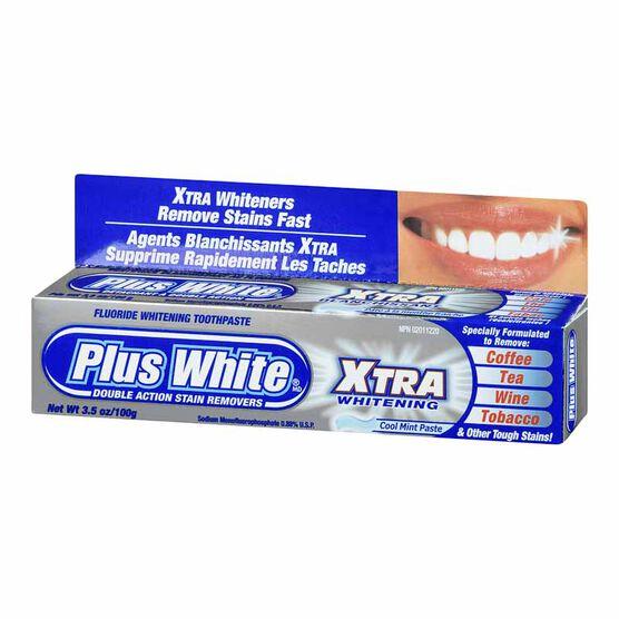 Plus White Xtra Whitening Toothpaste - 100g