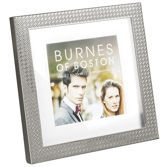Burnes Black Herringbone Frame - 566544