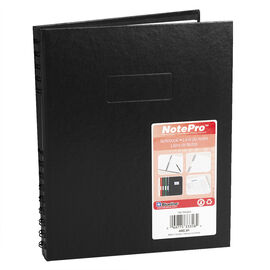 Blueline NotePro Hardcover Notebook - 192 pages - Black