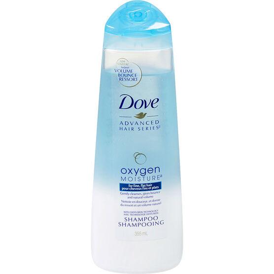 Dove Advanced Hair Series Oxygen Moisture Shampoo - 355ml