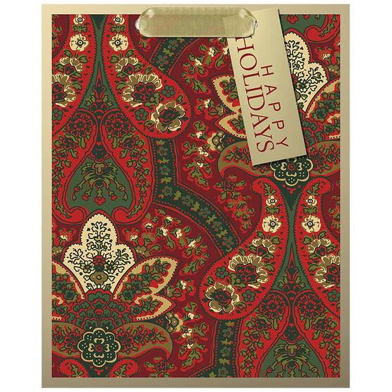 Hallmark Paisley Gift Bag - Medium - Elegant Reds - 0249XGB1243