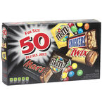 Mars/Twix/Snickers & M&M's - 50's