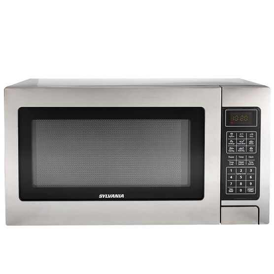 Sylvania 1.1 cu.ft. Microwave - Stainless Steel - SLMW1137