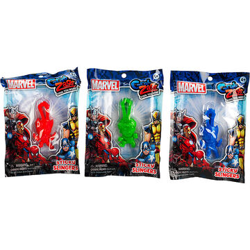 Grab Zags Marvel Sticky Slingers - Assorted