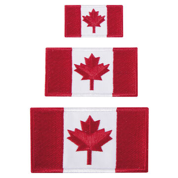 Austin House Canada Flag Patches - 3 pack