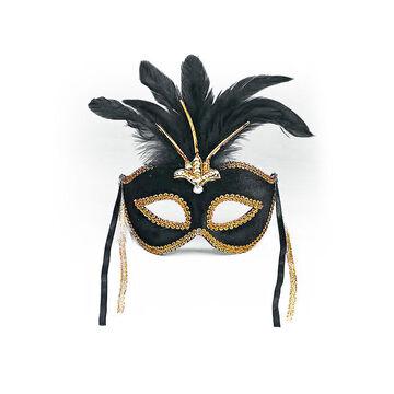 Halloween Masquerade Mask - Black