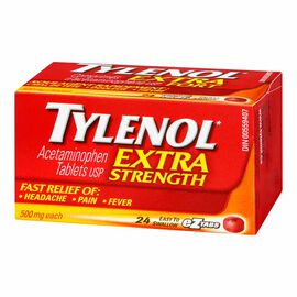 Tylenol* Extra Strength Tablets - 24's