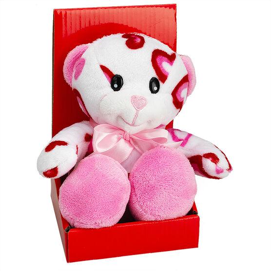 "Valentine's Kissing Plush Bear  - 6"" - Assorted"