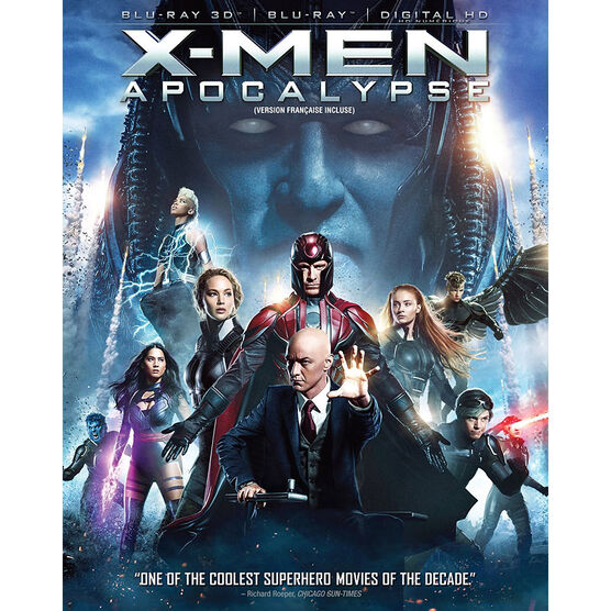 X-Men: Apocalypse - 3D Blu-ray