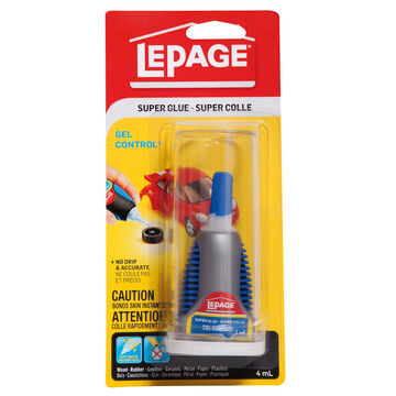 LePage® Gel Super Glue- 4ml