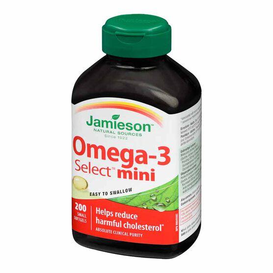 Jamieson Omega 3 Select Mini - 200's