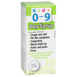 Homeocan Kids 0-9 Cough & Cold Phytux H Syrup - 100ml
