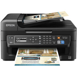 Epson WorkForce WF-2630 All-in-One Printer - Black - C11CE36201