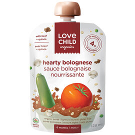 Love Child Hearty Bolognese - 128ml
