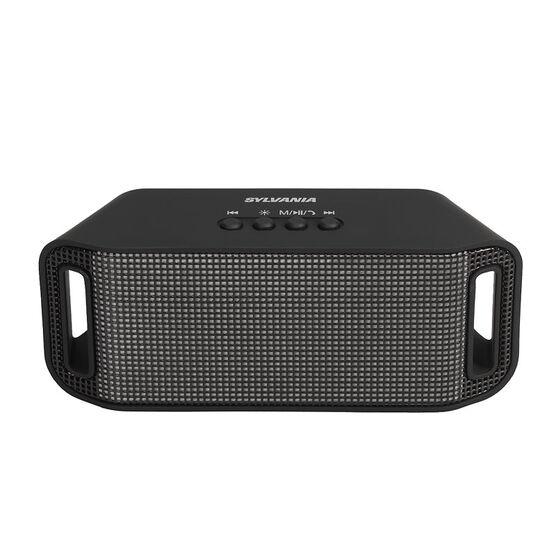 Sylvania Bluetooth Neon Light Speaker - Black - SP620BT