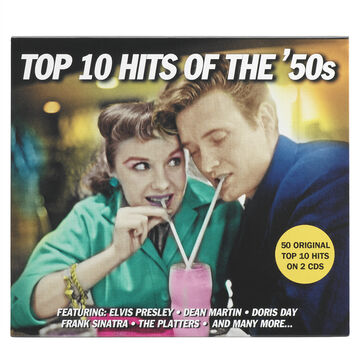 Various Artists - 1950s: Top Ten Hits of the 50s - CD