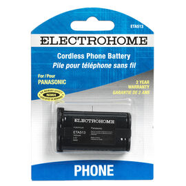 Electrohome Cordless Phone Battery - ETA513