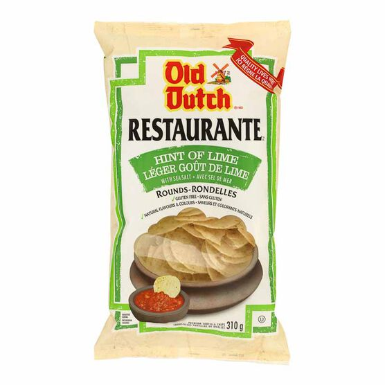 Old Dutch Restaurante - Sea Salt & Lime - 310g