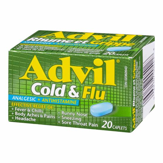 Advil Cold & Flu Caplets - 20's