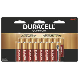Duracell Quantum AA Batteries - 16 pack