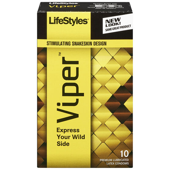 Lifestyles Viper Condoms - 10's