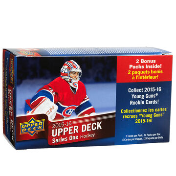2015-16 Upper Deck Series One Hockey Blaster