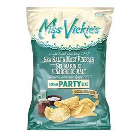 Miss Vickie's Potato Chips - Sea Salt & Malt - 300g