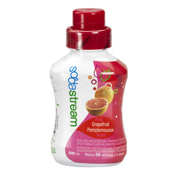 SodaStream Syrup - Pink Grapefruit - 500ml