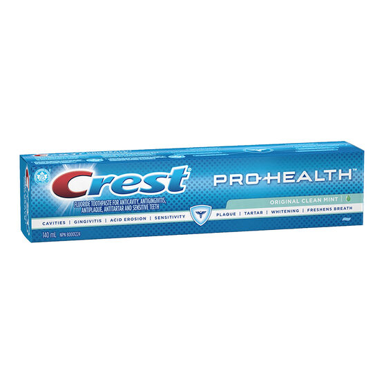 Crest PRO-Health Toothpaste - Original Clean Mint - 140ml