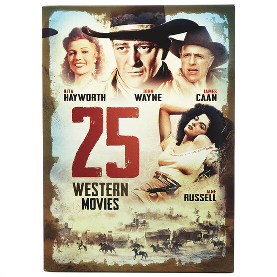 25-Movie Big Box of Westerns - DVD