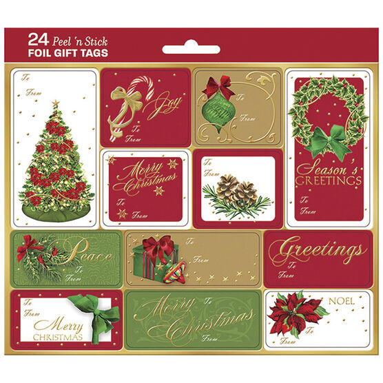 Christmas Pure Merriment Gift Tags - 24s