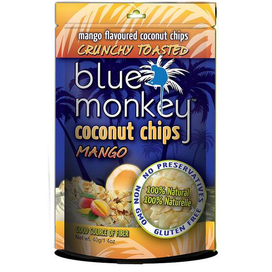 Blue Monkey Coconut Chips - Mango - 40g
