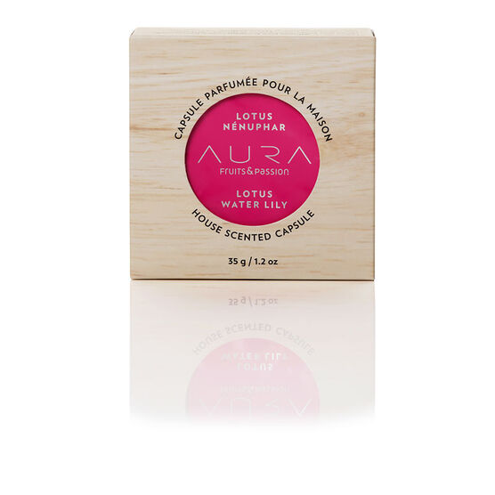 Fruit & Passion Aura House Scented Wax Capsule - Lotus Water Lily