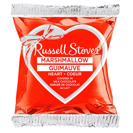 Russell Stover Marshmallow Heart Bar - 28g