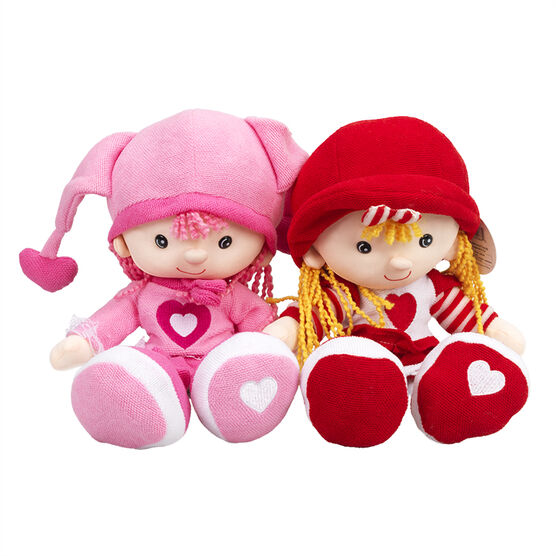 Kickin Kids Sweetheart Doll  - Assorted - 12in