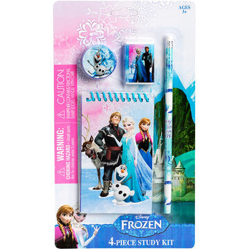 Disney Frozen Study Kit - 4 Piece
