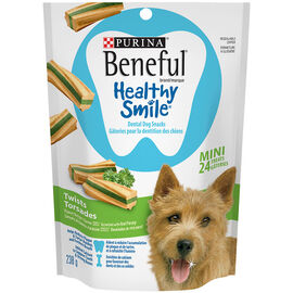 Purina Beneful Mini Healthy Smile Treats - Twists - 238g
