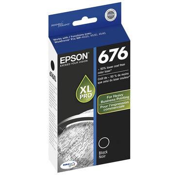 Epson Durabrite Ultra Ink T676XL Ink Cartridge - Black - T676XL120-S