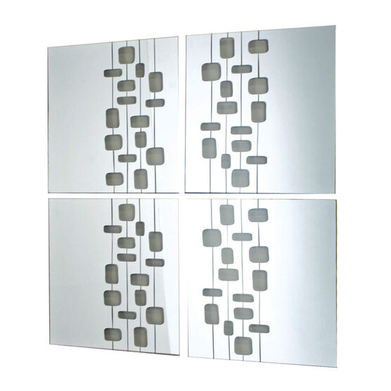 Mosaic Set - Lines - Set of 4