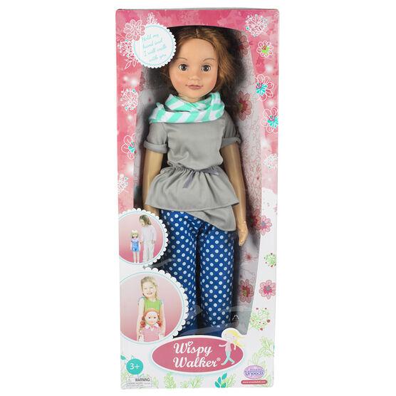 Wispy Walker Doll - Floral Dress - 28 inches