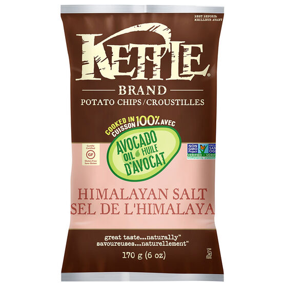 Kettle Brand Potato Chips - Himalayan Salt - 170g