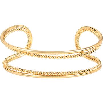 Haskell Cuff Bracelet - Gold