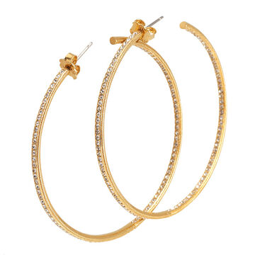Eliot Danori Gold Hoop Earring - Large In/Out
