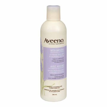 Aveeno Active Naturals Stress Relief Foaming Bath - 295ml