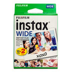 Fuji Instax Wide Film Twin Pack - 20 exposures