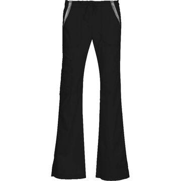Maevn Empress Contrast Multi Pocket Fashion Flare Pant